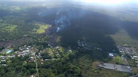 Řádění havajské sopky Kilauea