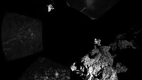 Modul Philae poslal z komety  67P/Čurjumov-Gerasimenko první snímky