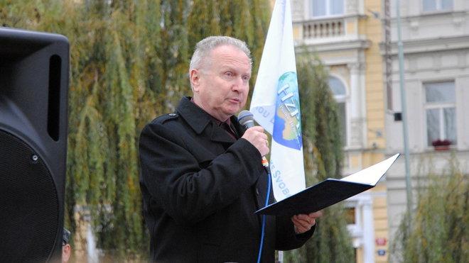 Jan Veleba /SPO/, předseda strany
