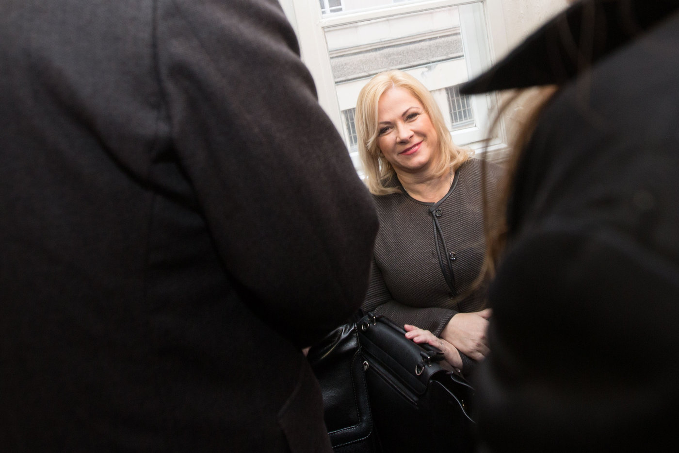 Jana Nečasová u Obvodního soudu pro Prahu 1