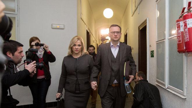 Jana Nečasová a Petr Nečas