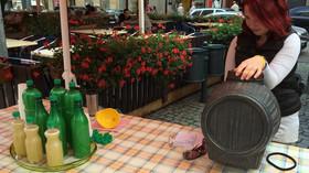 Prodejce burčáku, ilustrační fotografie