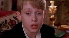 Herec Macaulay Culkin ve snímku Sám doma