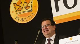Jan Mládek /ČSSD/ ministr průmyslu a obchodu