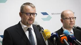 Dan Ťok, ministr dopravy a Bohuslav Sobotka /ČSSD/, předseda vlády