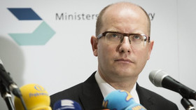 Bohuslav Sobotka /ČSSD/, předseda vlády