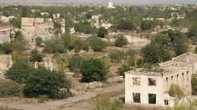 Ağdam, město duchů v Ázerbájdžánu.