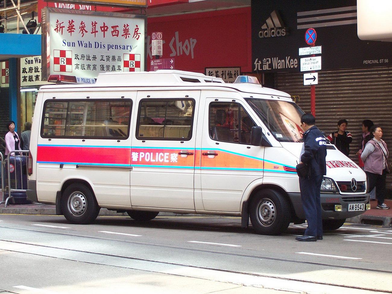Čínská policie, ilustrační fotografie. Autor: Hamedog