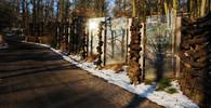 Zoo Brno v zimě.