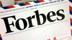 Tisk, Forbes