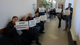 Ze soudního líčení s panem Jaroslavem Sýkorou, klientem H-Systemu