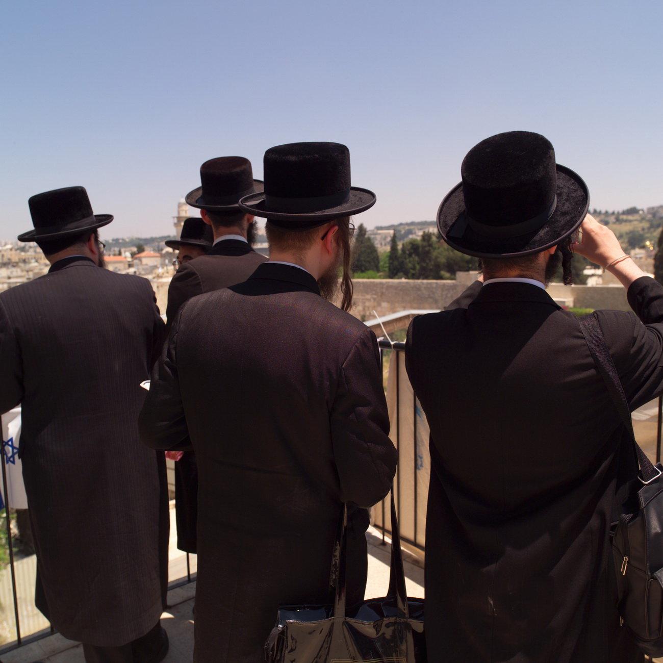 Židé, ilustrační fotografie