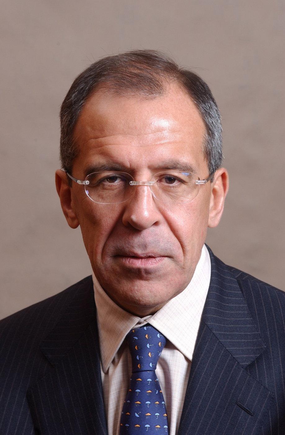 Sergej Lavrov, ruský ministr zahraničí