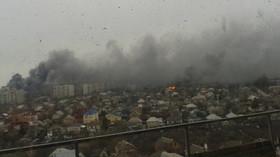 Situace v ukrajinském Mariupolu