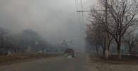Větší část obyvatel evakuovaných z ukrajinského města Balaklija se po explozi munice vrátila domů - anotační obrázek