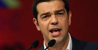 Alexis Tsipras, předseda vítězné strany SYRIZA v parlamentních volbách 25.1.2015.