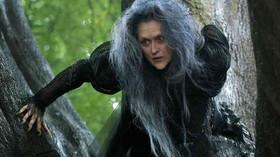 Meryl Streepová ve filmu Čarovný les