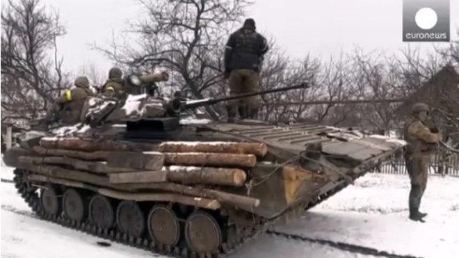 Boje o Debalceve, Ukrajina.