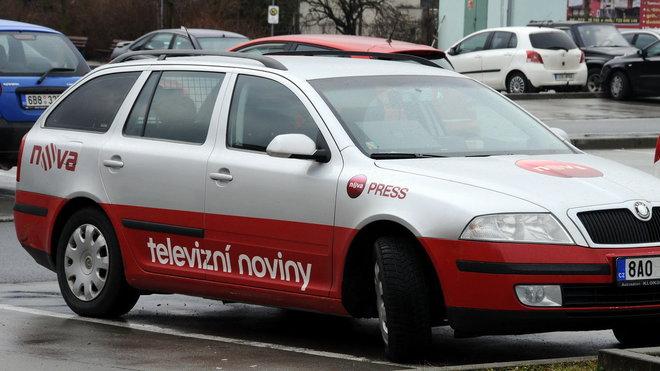 Zpravodajské vozidlo TV Nova