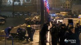 Vražda Borise Němcova, kritika prezidenta Putina