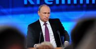 Putinova tiskovka přilákala rekordní počet novinářů. Šéf Kremlu musel odpovídat na bizarní otázky - anotační obrázek