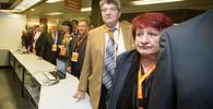 Zásadní sjezd ČSSD: Stranu má k krize vyvést Hamáček, delegáti ho zvolili předsedou až v druhém kole - anotační foto