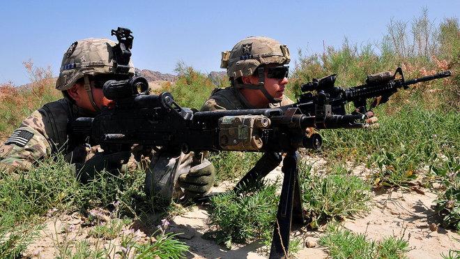 Americká armáda, ilustrační fotografie