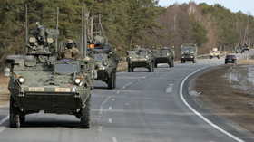 Konvoj jednotek U.S. Army