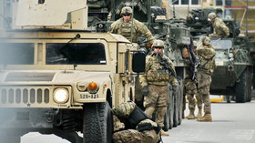 Dragoon Ride, americký vojenský konvoj přijel do Vyškova (29.3.2015).