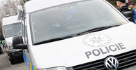 Policie zasahovala na demonstraci v Praze. Příznivec Okamury hajloval - anotační foto