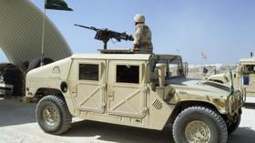 Humvee Saudi Arabian Army