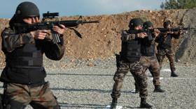 Turecké ozbrojené složky