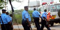 Policie zasahovala proti demonstrantům v Nairobi slzným plynem - anotační foto