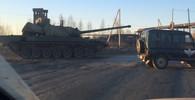 Tank T-14 Armata zachycený na krátkém video záznamu  | foto: Alexabdr Smirnov