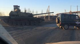 Rusko se chlubí: Nejlepší tank světa umí bojovat i na Marsu - anotační foto