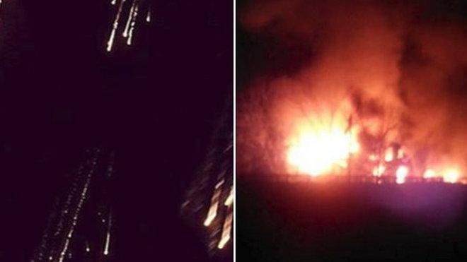 Separatisté na Donbasu údajně použili fosforovou munici.
