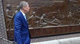 Andrej Babiš v USA: u Památníku 11. září poklonil obětem teroristického útoku na budovu Světového obchodního centra na Manhattanu.