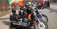 Ruští motorkáři ze skupiny Noční vlci