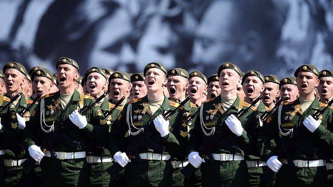 Velkolepé oslavy konce II. světové války v Moskvě