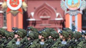 Velkolepé oslavy konce II. světové války v Moskvě (9. května 2015)