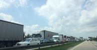 Hromadná nehoda zabklokovala dopravu na D1 ve směru na Brno - anotační obrázek