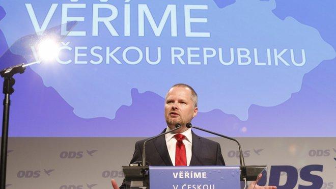 Petr Fiala na 26. kongresu ODS