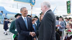 Summit G7 v Německu, Barack Obama a bavorský premiér Horst Seehofer