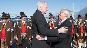 Summit G7 v Německu, Horst Seehofer a Jean-Claude Juncker