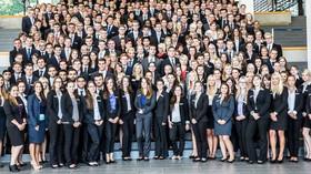 Pracovníci Detsche Bank v Německu