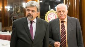 Jiří Weigl s Václavem Klausem