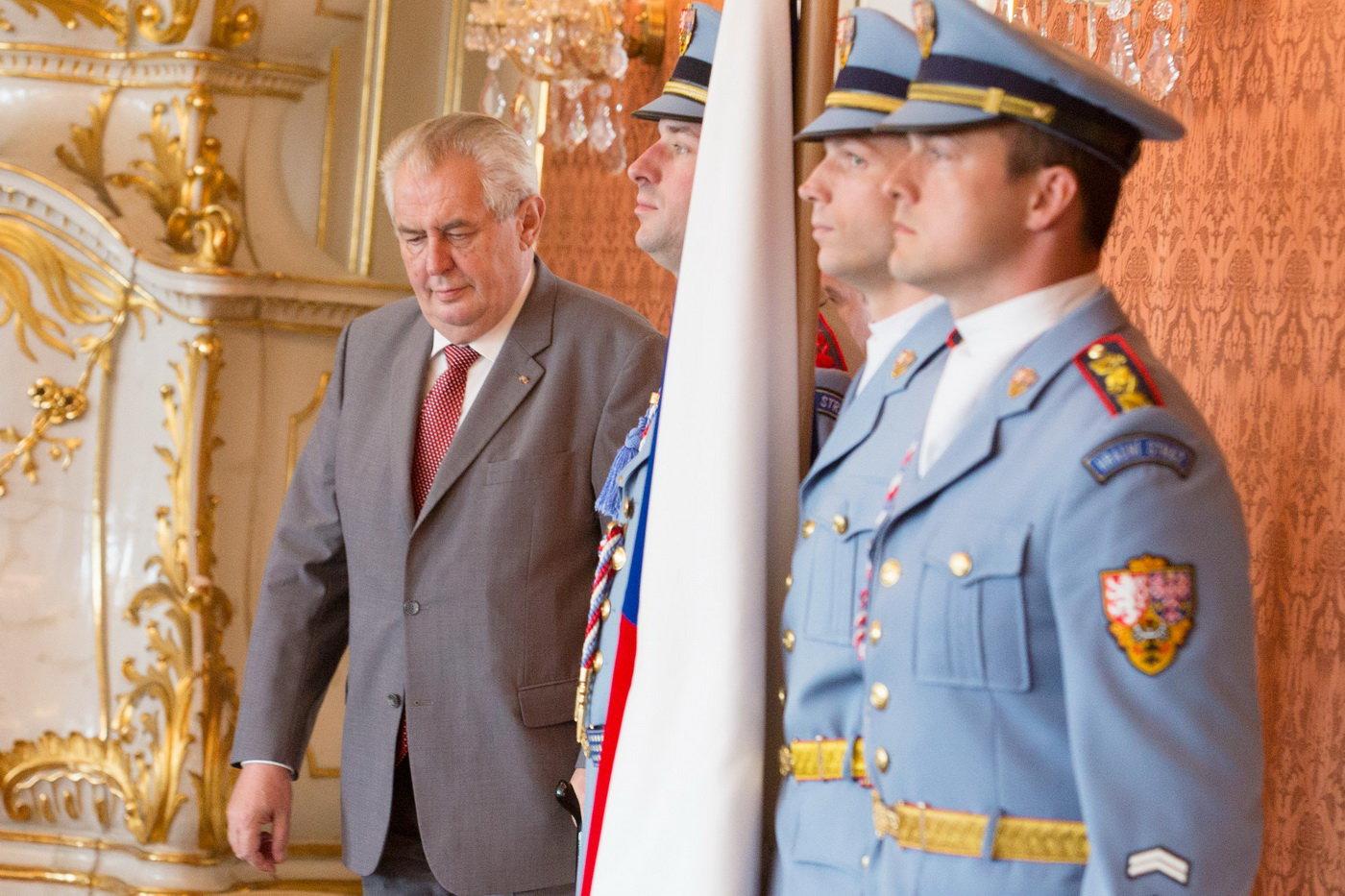 Miloš Zeman, prezident ČR