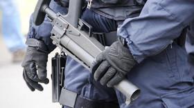 Policie ČR při zásahu