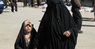 Syrská uprchlice se pokusila upálit sebe i své děti. K činu ji dohnal hlad - anotační foto