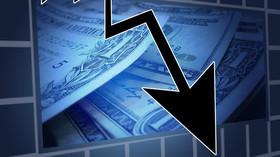 Ekonomický propad, ilustrační fotografie